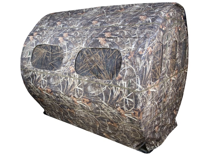 Beavertail DDT Hay Bale Ground Blind 600D Fabric Realtree Max-4 Camo