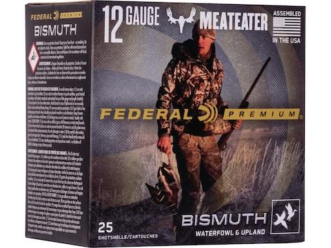 Federal Premium Meateater Bismuth Ammunition 12 Gauge Non-Toxic Shot