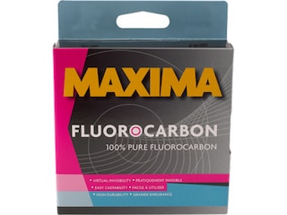 Maxima Fluorocarbon Fishing Line 4lb 200yd Clear