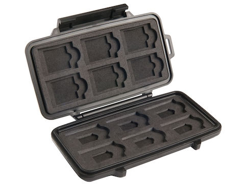 Pelican 0915 Micro Manager Memory Card Case for SD Memory Cards Polymer