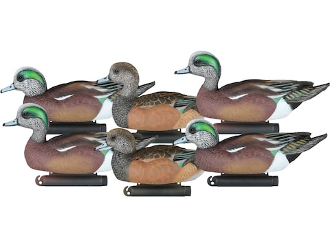 Dakota Decoy X-Treme Wigeon Duck Decoy Pack of 6