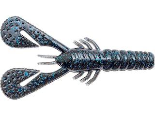Z-Man Turbo Crawz Craw Black Blue Flake