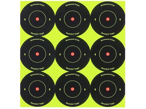 "Birchwood Casey Shoot-N-C 2"" Bullseye Reactive Targets Package 108"