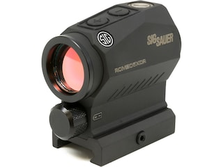 Sig Sauer ROMEO5 XDR Predator Compact Green Dot Sight 1x20mm 1/2 MOA Adjustments Predator Reticle Picatinny-Style Mount Black