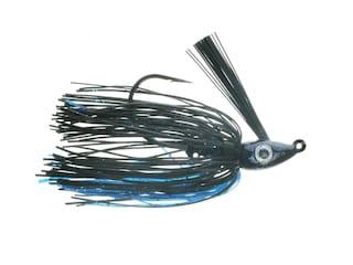 Nichols Lures Saber Swim Jig Black and Blue 3/8oz