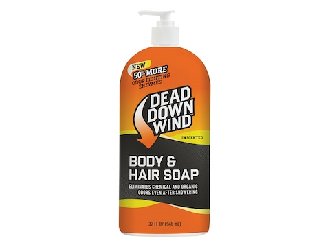 Dead Down Wind Body and Hair Scent Elimination Soap 32 oz Liquid