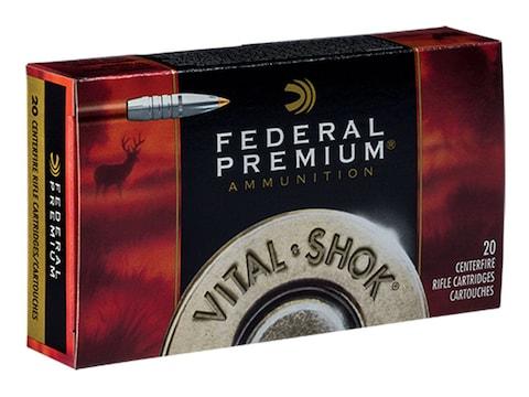 Federal Premium Ammunition 7mm STW 160 Grain Trophy Bonded Tip