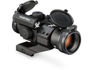 Vortex Optics StrikeFire II Red Dot Sight 30mm Tube 1x 4 MOA Bright Dot with Lower 1/3 Co-Witness Cantilever Picatinny-Style Ring Mount Matte