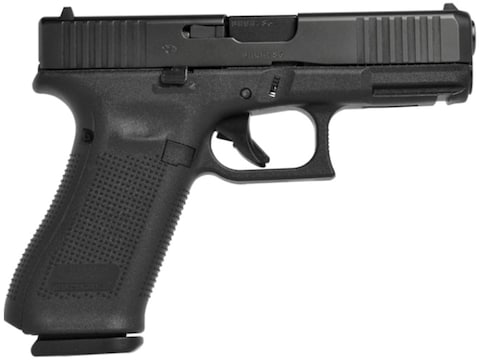 Glock 45 Pistol 9mm Luger Front Serrations Fixed Sight 17-Round Polymer Black