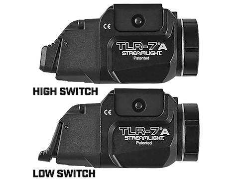 Streamlight TLR-7A Flex Weapon Light White LED fits Picatinny or Glock-Style Rails Alum...