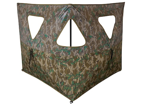 Primos Double Bull Stakeout Ground Blind Mossy Oak Greenleaf