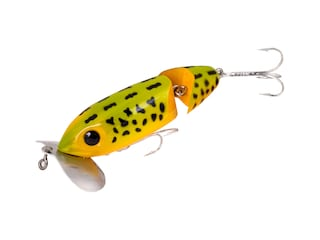 Arbogast Jitterbug 670 Jointed Topwater Frog Yellow Belly