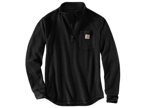 Carhartt Men's Tilden 1/2 Zip Long Sleeve Shirt Cotton/Polyester