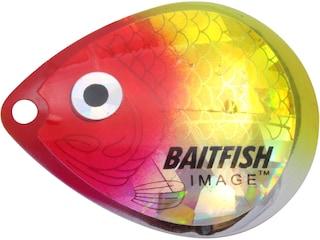 Northland Baitfish-Image Colorado Blade #2 Clown 3 pk