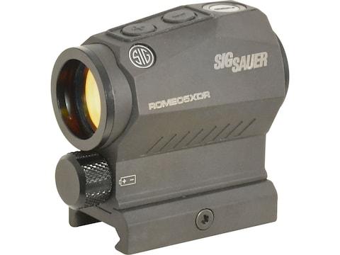 Sig Sauer ROMEO5 XDR Compact Red Dot Sight 1x20mm 1/2 MOA Adjustments 65 MOA Circle wit...