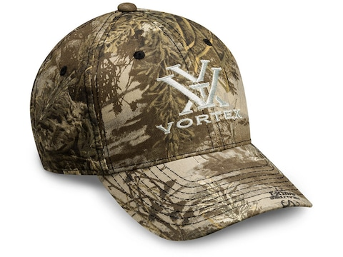 Vortex Optics Men's Camo Logo Cap Realtree Max-1 XT One Size Fits Most