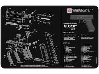 Tekmat Ultra 20 Glock Gen 5 Gun Cleaning Mat Black