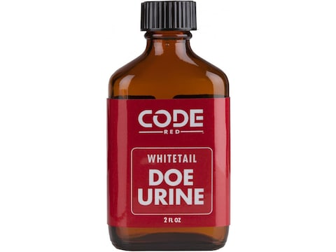Code Red Doe Urine Deer Scent Liquid 2 oz