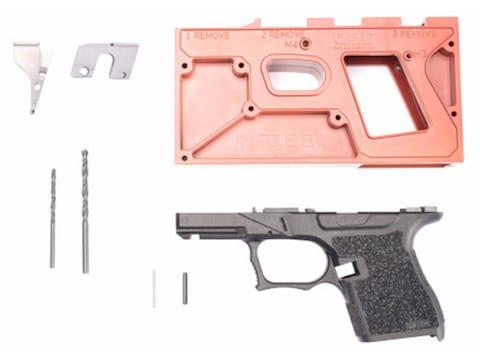 Polymer80 PF9SS Sub Compact Single Stack 80% Pistol Frame Kit Glock 43 Polymer