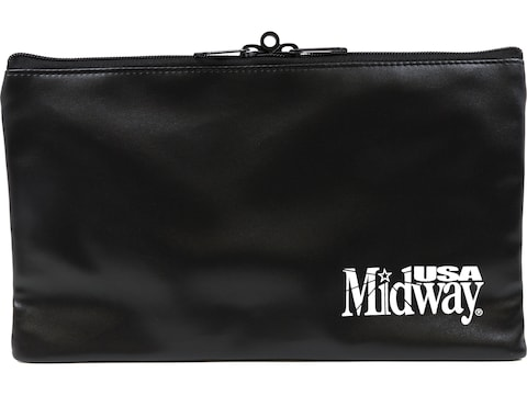 MidwayUSA Bank Bag Pistol Case Black