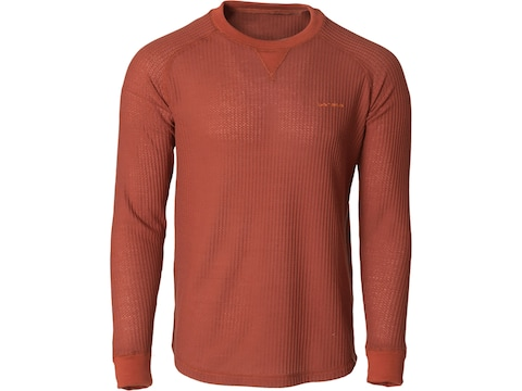 Banded Men's Grey Cliff Waffle Long Sleeve Shirt
