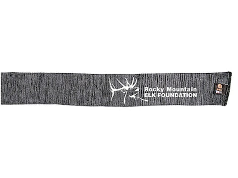 "Rocky Mountain Elk Foundation Rifle and Shotgun Gun Sock Silicone-Treated Polyester 52""..."