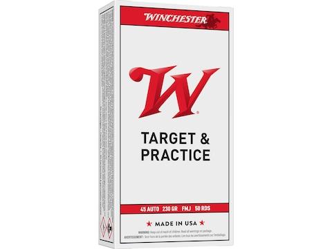 Winchester USA Ammunition 45 ACP 230 Grain Full Metal Jacket