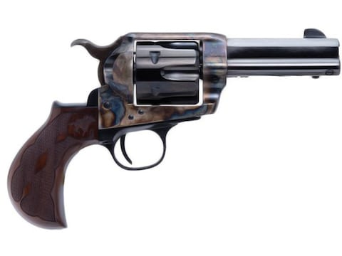 "Cimarron El Malo 2 Revolver 357 Magnum 3.5"" Barrel, 6-Round Case Colored Hardened Frame..."