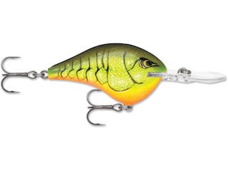 Rapala DT (Dives To) Series 8 Crankbait Chartreuse Rootbeer Craw