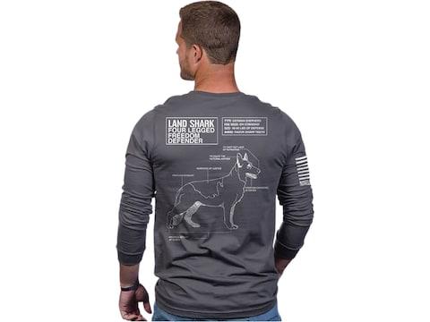 Nine Line Men's Landshark Long Sleeve T-Shirt