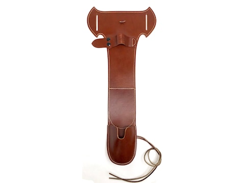 Hunter Side Carry Holster Right Hand Mossberg Shockwave Leather Tan