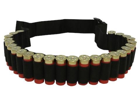 MidwayUSA Shotshell Ammunition Carrier Belt 25-Round Black
