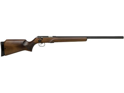 "Anschutz 64 MPR Rifle 22 Long Rifle 25.5"" Barrel Blue, Beavertail Walnut Stock"