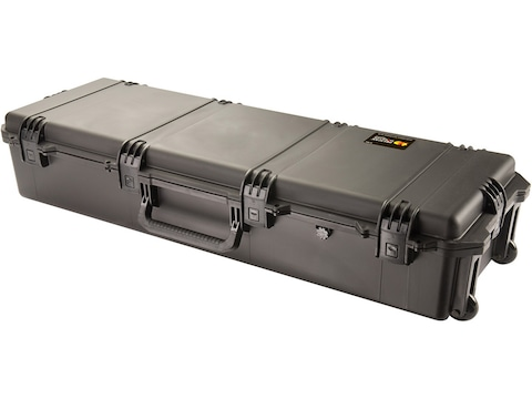 Pelican iM3220 Storm Rifle Case with Foam and Wheels Polymer Black