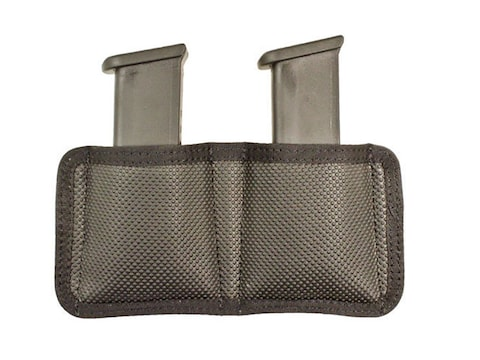 DeSantis Nemesis Double Magazine Pouch Single Stack 9mm, 40S&W, Glock 42, 43 Nylon Black