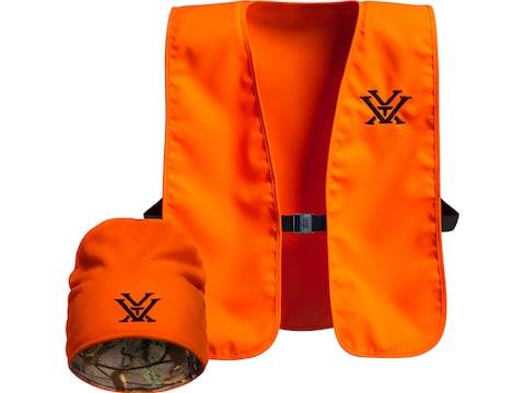 Vortex Optics Men's Vest and Beanie Combo Blaze One Size Fits Most