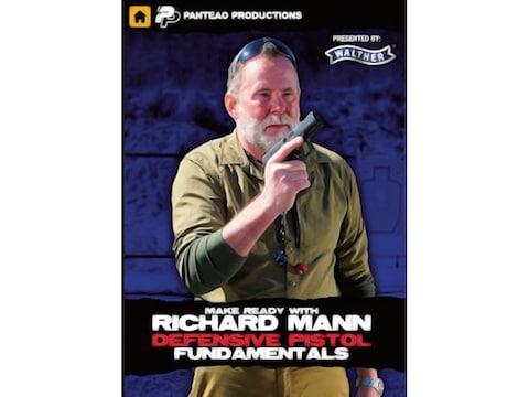 "Panteao ""Make Ready with Richard Mann: Defensive Pistol Fundamentals"" DVD"
