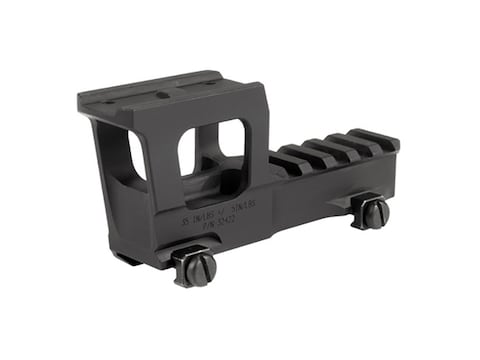 Knights Armament Aimpoint Micro NVG Riser Mount with Rear 1913 Rail Matte