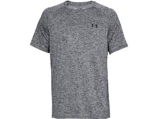 Under Armour Men's UA Tech 2.0 Short Sleeve T-Shirt Polyester Black Twist Large