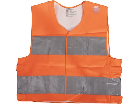 Military Surplus German Reflective Vest Grade 2 Orange