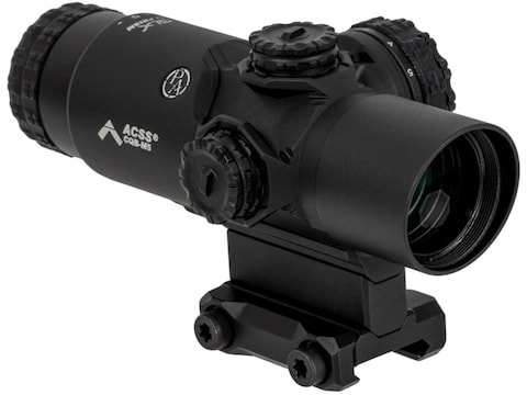 Primary Arms GLx 2x Prism Sight Illuminated ACSS Gemini 9mm Reticle Matte