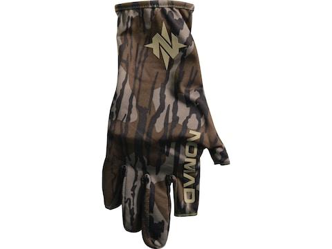 Nomad Fingerless Turkey Hunting Gloves Polyester