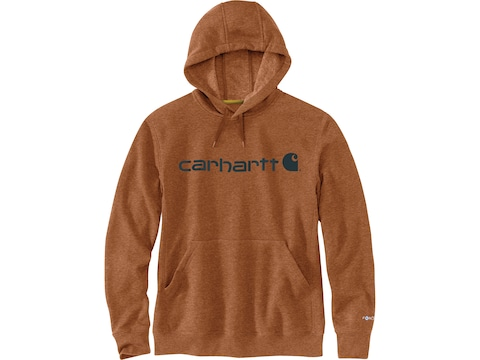 Carhartt Men's Force Delmont Signature Graphic Hoodie