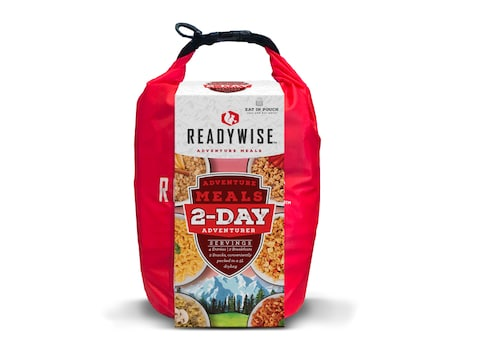 ReadyWise 2 Day Adventure Freeze Dried Food Kit with Dry Bag