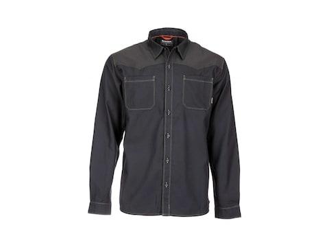 Simms Men's Black's Ford Flannel Long Sleeve Shirt