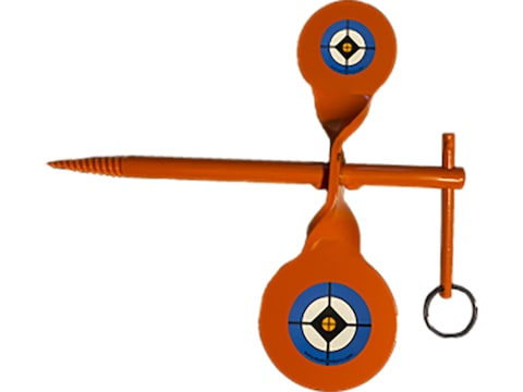 Do-All Double Tree Spinner Target Rimfire Steel