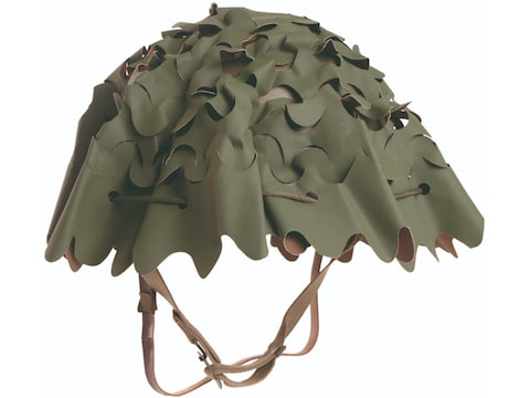 Military Surplus French F1 Helmet Cover Grade 2 Olive Drab