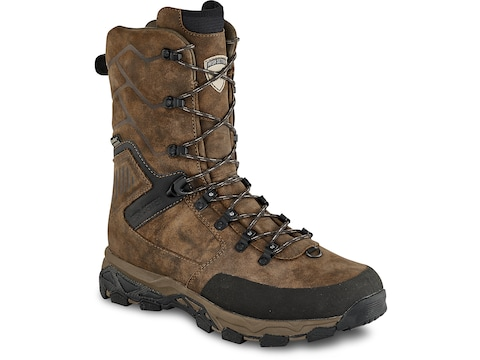 """Irish Setter Pinnacle 11"""" Insulated Hunting Boots Leather Men's"""