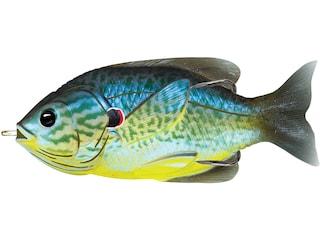 "LIVETARGET Sunfish Walking 3"" Topwater Blue/Yellow Pumpkinseed"