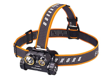 Fenix HM65R Headlamp LED with Rechargeable Lithium Battery Magnesium Alloy Black